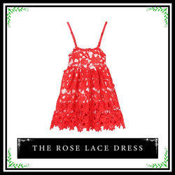 Rose Lace Dress - Simply Lennox
