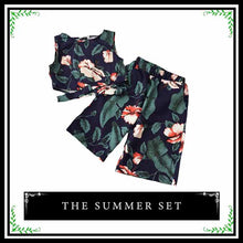The Summer Set | Floral Two Piece Set for Young Trendy Girl