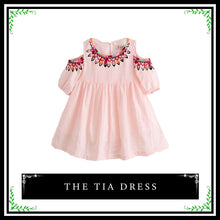 The Tia Dress | Cut-Out Sleeve Dress