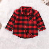 kids outerwear, trendy kids clothes, flannel shirt for toddler, unisex, red plaid, cotton, casual, fall, spring, winter, comfort, black