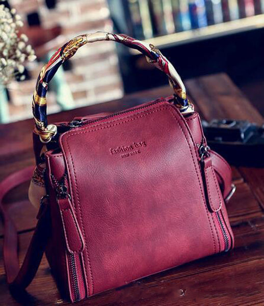 New Women Leather Shoulder Bags
