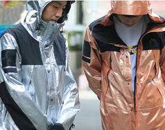 Winter Silver Gold  Reflective Jackets
