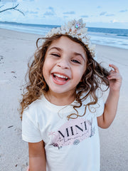 Mini Mermaid Organic Cotton Tee