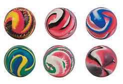 45mm Swirled Bouncy Ball