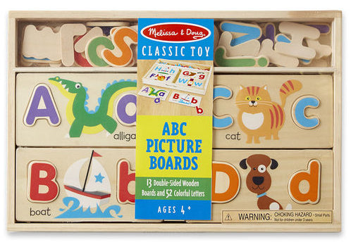 ABC Picture Boards by Melissa & Doug
