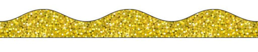 Gold Holographic Magnetic Scalloped Border