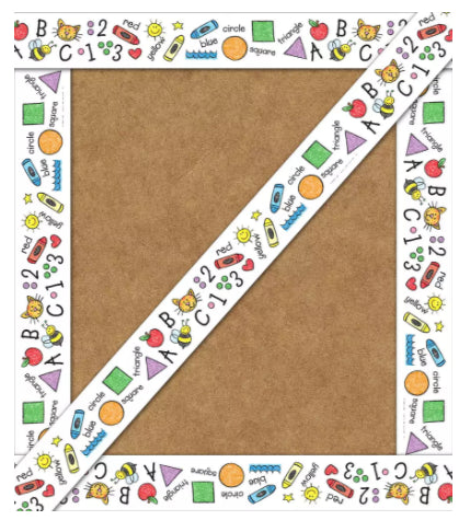 Basics Kid Drawn Straight Border