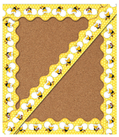 Buzz-Worthy Bee Scalloped Border