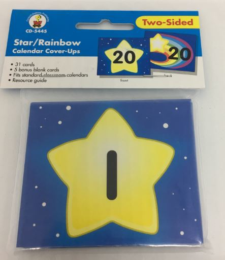 Star/Rainbow Calendar Cover-Ups