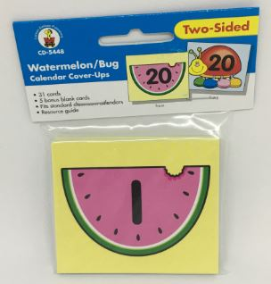 Watermelon/Bug Calendar Cover-Ups