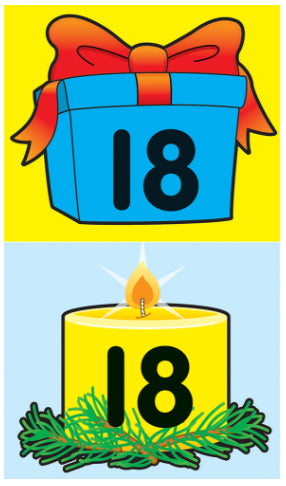 Candle/Gift Calendar Cover-Ups