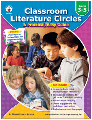 Classroom Literature Circles Resource Book, Grades 3-5