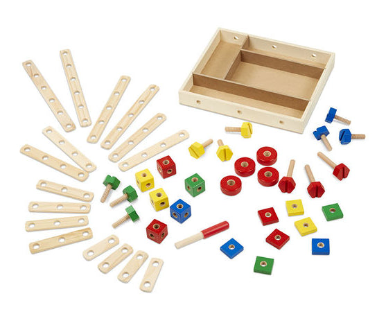 Construction Building Set in a Box by Melissa & Doug
