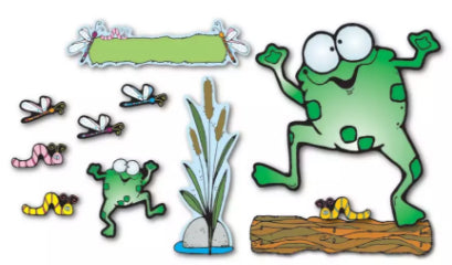Froggie & Friends Bulletin Board Set