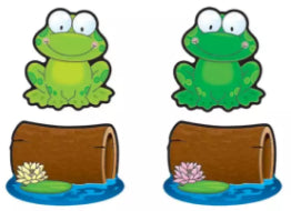 Frogs & Logs Cut-Outs