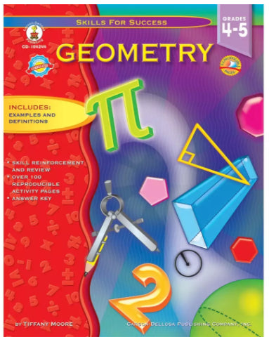Skills for Success Geometry Resource Book, Grades 4-5