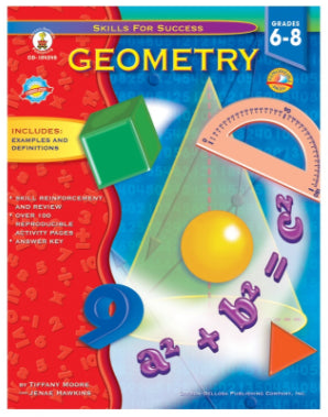 Skills for Success Geometry Resource Book, Grades 6-8