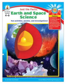 Just the Facts: Earth and Space Science Resource Book, Grades 4-6