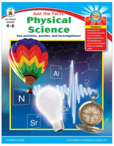 Just the Facts: Physical Science Resource Book, Grades 4-6