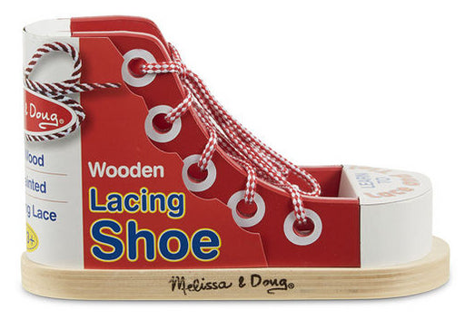 Lacing Shoe by Melissa & Doug