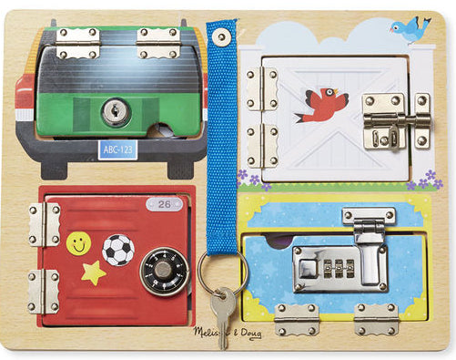 Lock & Latch Board by Melissa & Doug