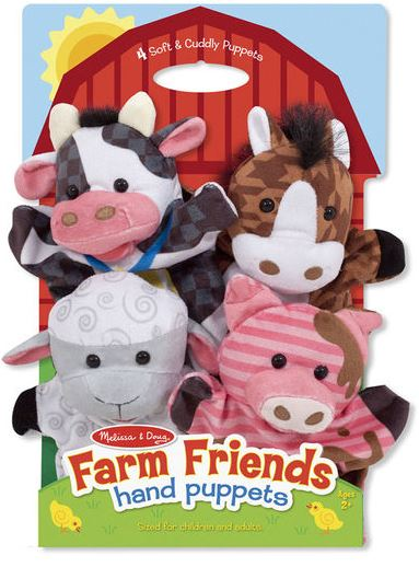Farm Friends Hand Puppets by Melissa & Doug