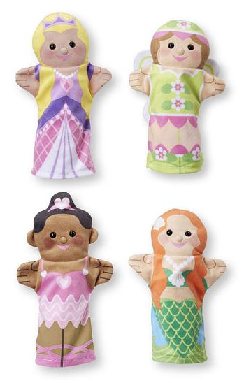 Storybook Friends Hand Puppets by Melissa & Doug