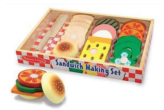 Sandwich Making Set by Melissa & Doug