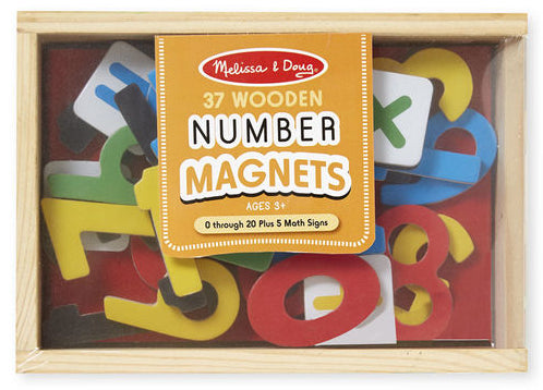 Magnetic Wooden Numbers by Melissa & Doug
