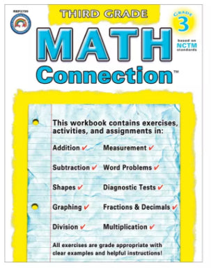 Math Connection Workbook, Grade 3