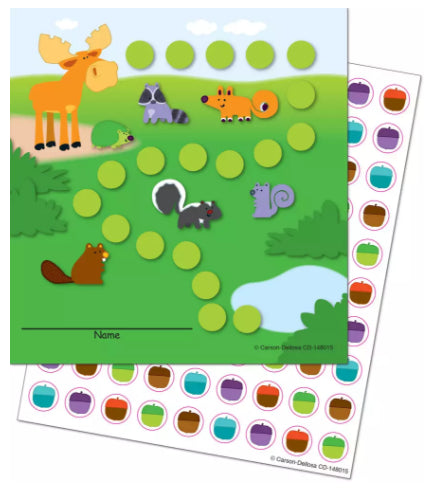 Moose & Friends Mini Incentive Charts