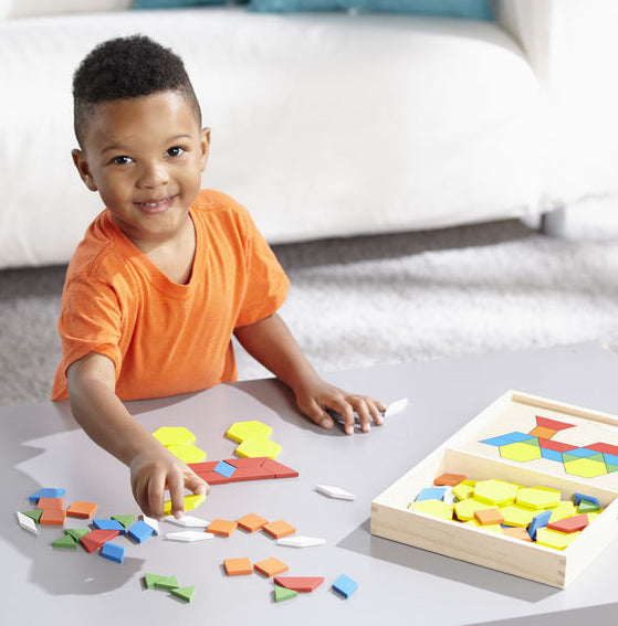 Pattern Blocks and Boards by Melissa & Doug