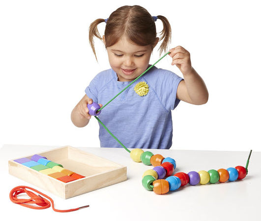 Primary Lacing Beads by Melissa & Doug