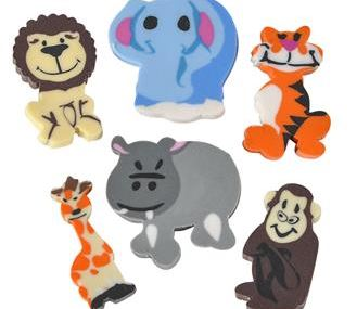 Mini Zoo Animal Eraser