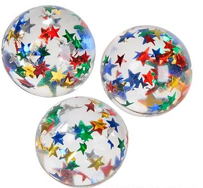 32mm Star Bouncy Ball