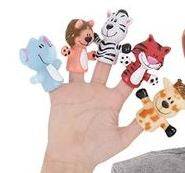 Zoo Animal Finger Puppet