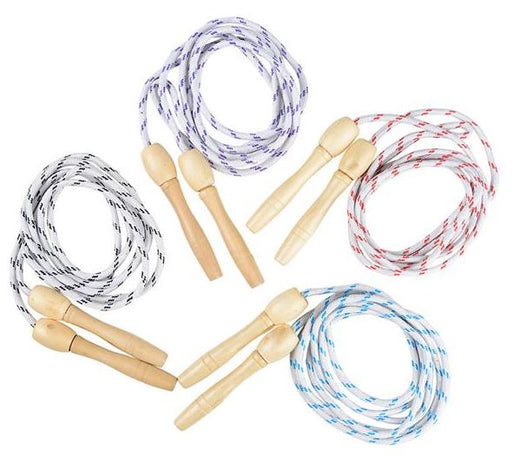 7 Foot Jump Rope with Wooden Handles