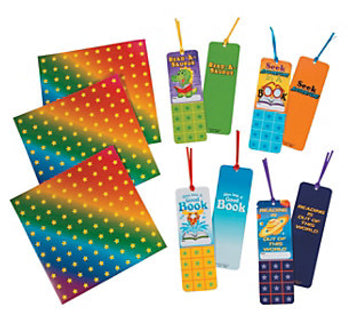 Reading Goal Bookmarks with Stickers