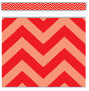 Red Chevron Border