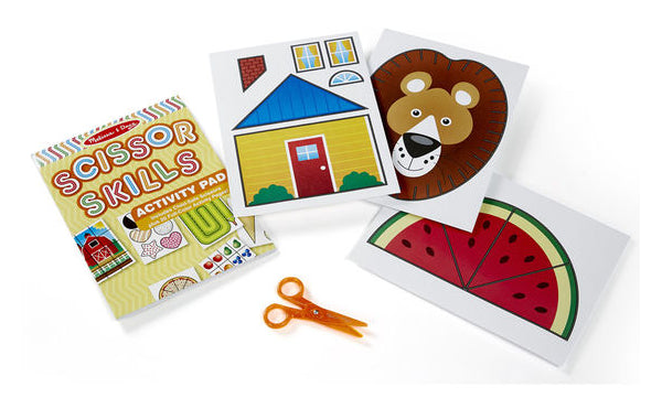 Scissor Skills Activity Pad by Melissa & Doug