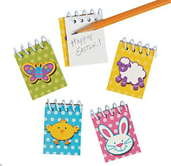 Mini Easter Spiral Notepad