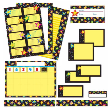 Stars Classroom Collection Bulletin Board Set