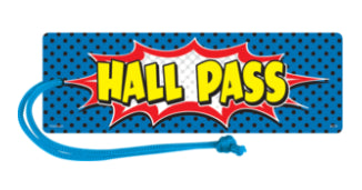Superhero Hall Pass