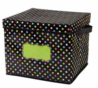 Chalkboard Brights Storage Box