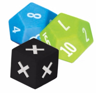 Multiplication Dice Set 3-Pack