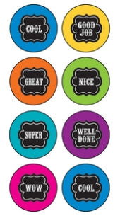 Chalkboard Brights Mini Stickers