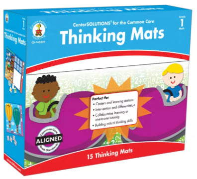 Thinking Mats File Folder Game, Grade 1