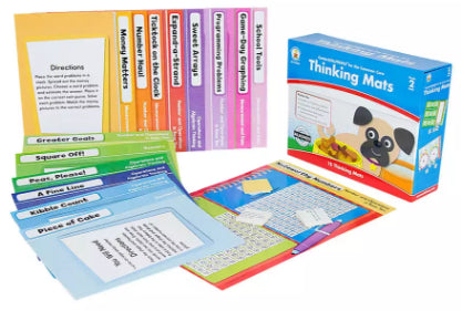 Thinking Mats File Folder Game, Grade 2