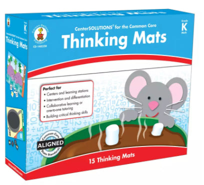 Thinking Mats File Folder Game, Grade K