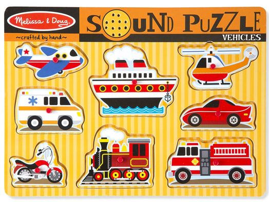 Vehicle Sound Puzzle by Melissa & Doug